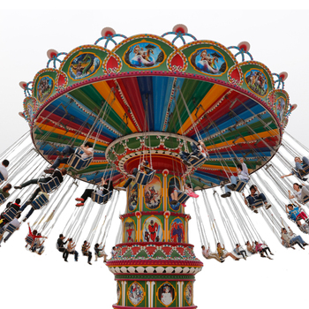8 seats Zhengzhou new high quality amusement hot sale park equipment flying chair