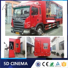 Driving Simulator 5D/7D/8D Mobile Cinema Truck New Products 2016 Technology