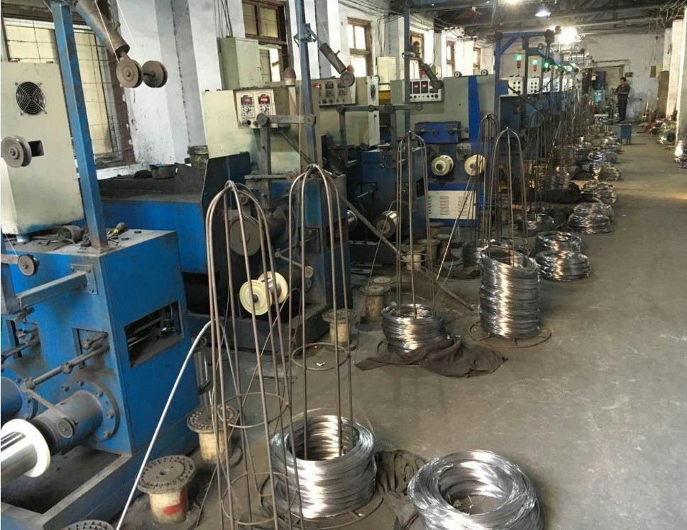 Single Needle high speed wire drawing machines,0.22 mm galvanized steel wire