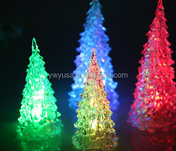 zhejiang Yiwu Halloween Flashing led christmas tree lights Party Favor white outdoor lighted christmas trees