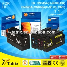 Compatible Printer Ink Cartridge for HP 950 951 Black and Color Printer Ink Cartridge for HP 8100 / 8600 ( for HP 950 951 )