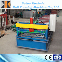 HOT Corrugated roofing sheet/zinc aluminum roofing sheet/metal roof roll forming machine