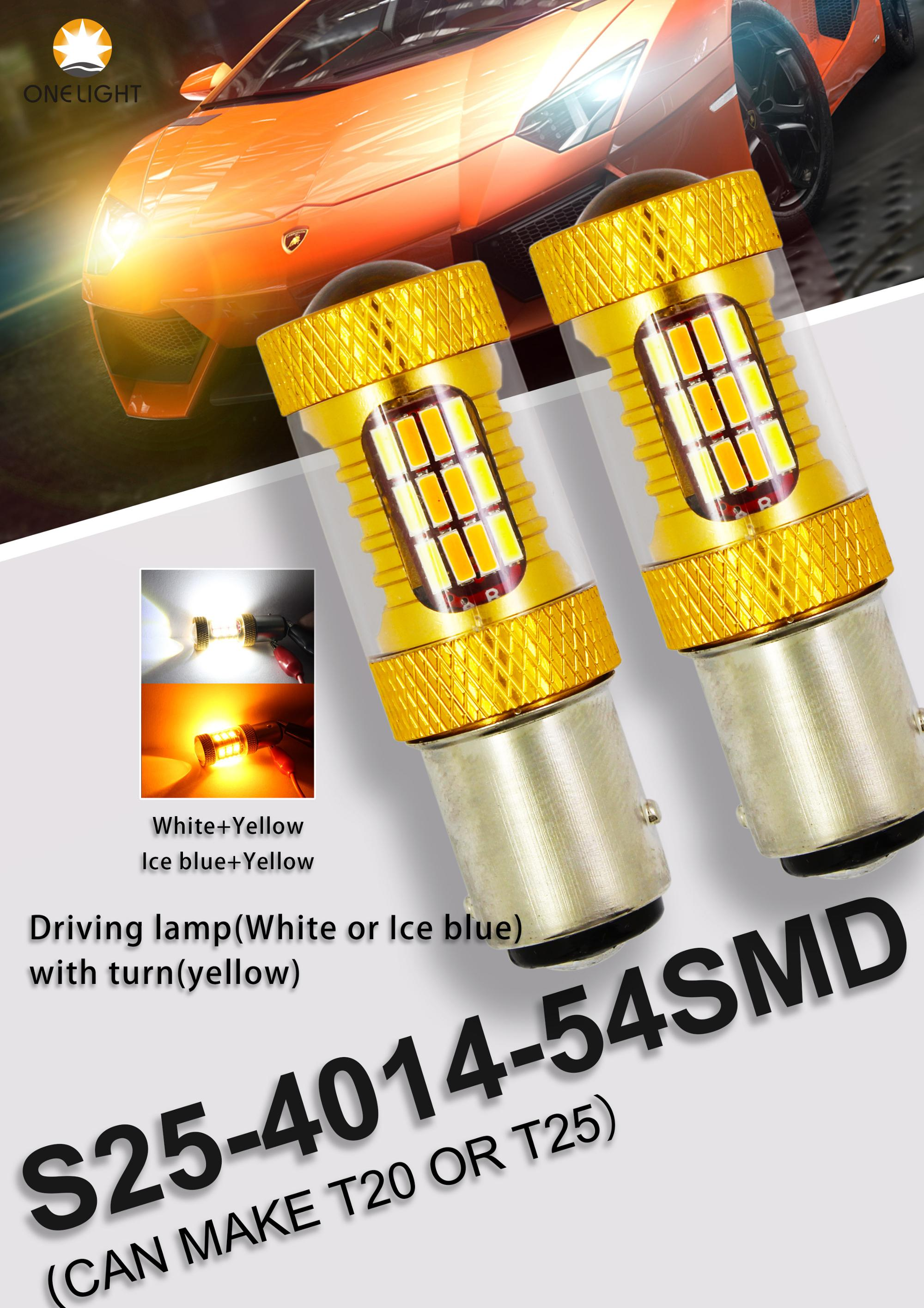 COB chip C6 LED headlight bulb H15 waterproof