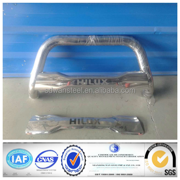OEM Style Stainless steel 304 grille guard with skid plate for Toyota Pickup