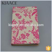 Fashion floral student notebook novelty stationery