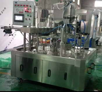 new design good quality  easy operation cup water filling sealing machine