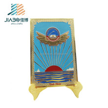 High quality with custom design brass souvenir plates