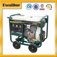 5kw single phase air cooled open-frame magnetic diesel generator