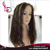 100% brazilian virgin human hair cheap brazilian full lace wig piano color full lace wig human hair