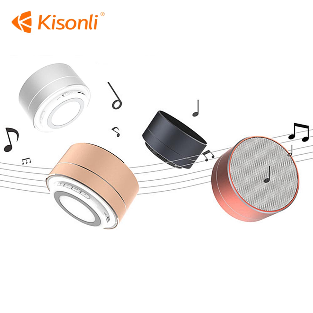 Mini Portable A10 Wireless Bluetooth Speaker Subwoofer support TF AUX FM Radio Car Handsfree