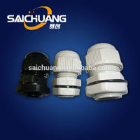 Newest cable gland pg9 ip68 water-proof cable gland pg19 pvc cable glands size pg16