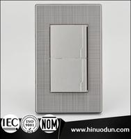 118K-03 Mexico Panama Venezuela stainless steel light switch covers