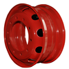 Red color high quality 16 inch car steel wheel rim (ZW-5.50F-16)