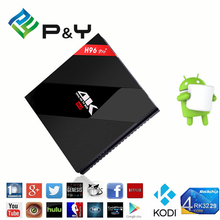 New product 2017 H96 Pro+ S912 3G 32G kiii dvb smart tv box made in China android 6.0 set top