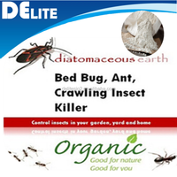 DElite Organic 300G/Bottle Food Grade Celatom Celite Diatomaceous Earth Powder Pesticides, Mites, Ants, Slugs,Bugs Killer