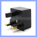 JHD-9624 Bristish Standard Plug to EU Converter Socket 125V/250V 6A UK Travel Plug Adapter
