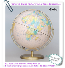 D.32cm Antique World Globe for Gifts