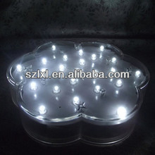 Battery Operated White LED Centerpiece Light