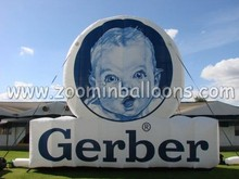 2015 15ft inflatable advertising cold air balloon with logo N2070