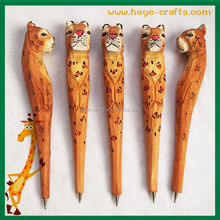 wholesale factory price cheap carved wood pens
