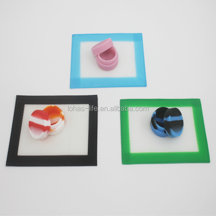 dab wax oil extracts custom silicone dab mat vape pad