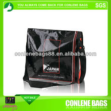 recycle laminated pp nonwoven shoulder bag