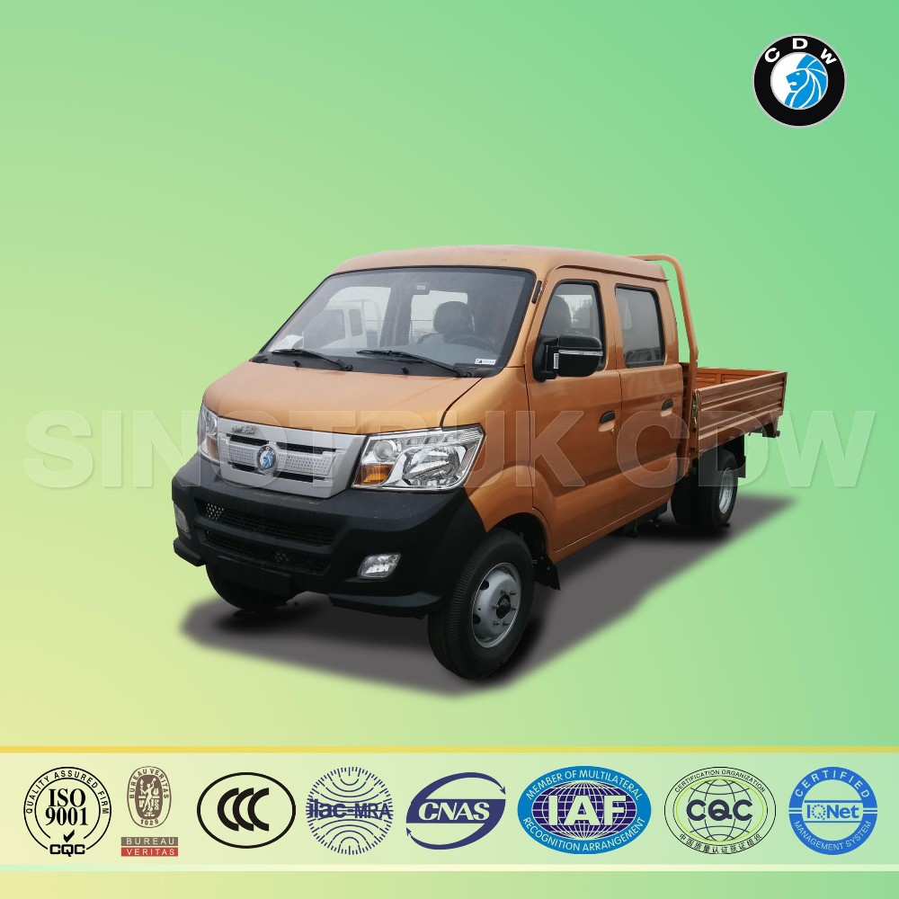 Sinotruk CDW diesel Euro-I 50Hp 1.5T double cabin pickup truck for sale in dubai made in china