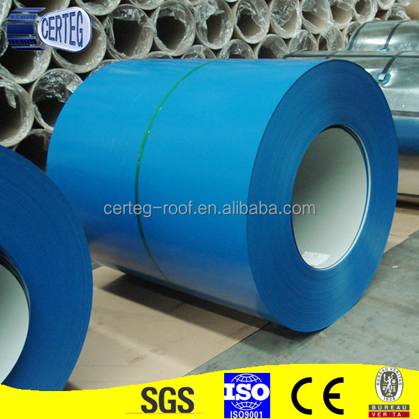 Color Coated Steel Prime Prepainted Galvanized Steel Coil PPGI
