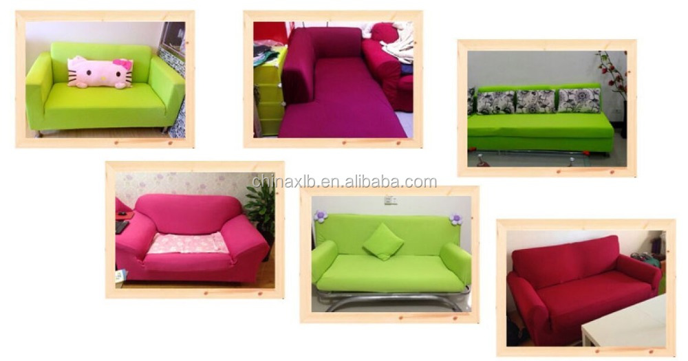 Popular elastic stretch leather sofa slipcover