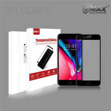 New arrival Wholesale Price Premium 3D Full Cover tempered glass screen protector for iphone 8