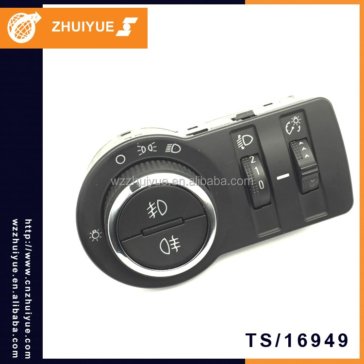 ZHUIYUE Wholesale China Factory 13268707 Car Headlight Switch For GM CRUZE OPEL