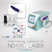 Beauty salon equipment q switched nd yag laser tattoo removal equipment