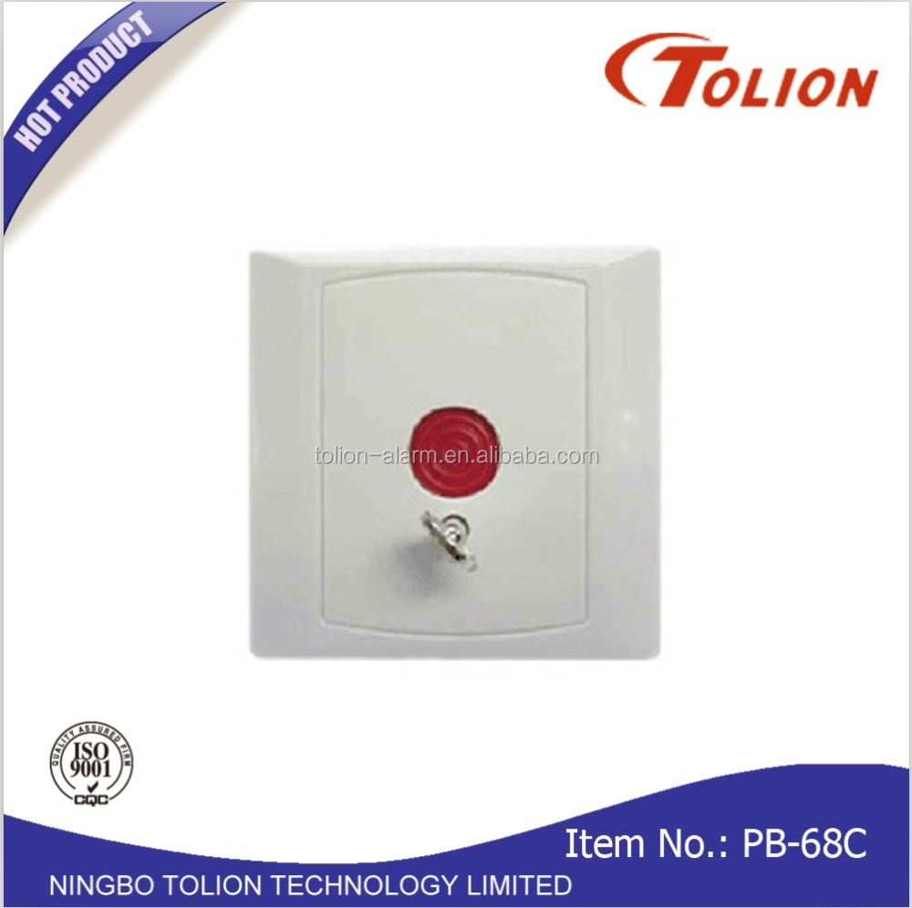 Hot Sale Wired key Reset Emergency Panic Button