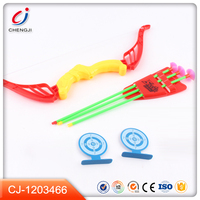 Hot sale products archery set sport plastic kids toy bow and arrow