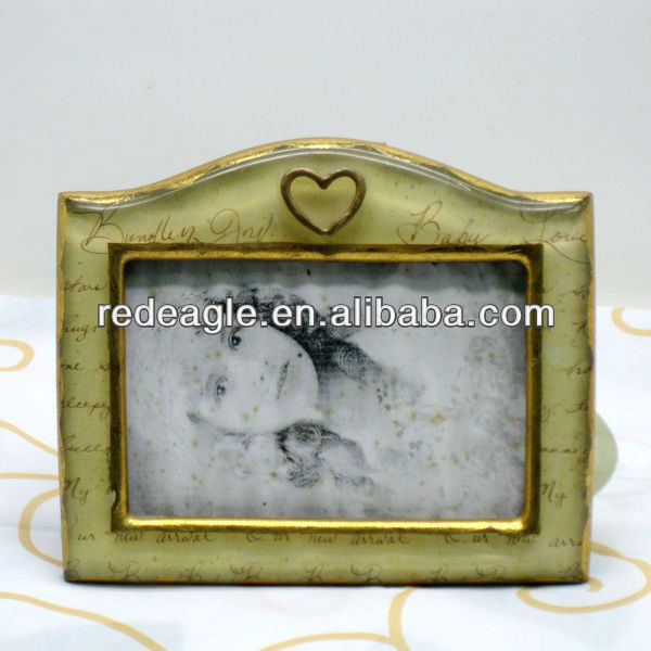 F16 family photo frame polyresin material