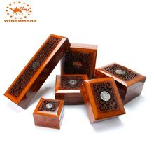 WSW001 winsumart wooden jewelry gift box yiwu jewellery boxes