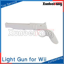 Light Gun Shotgun for Wii Remote Nunchuck Controller Model CWI241 White