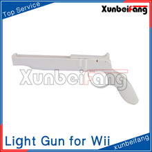 Light Gun for Wii Remote Nunchuck Controller Model CWI241 White