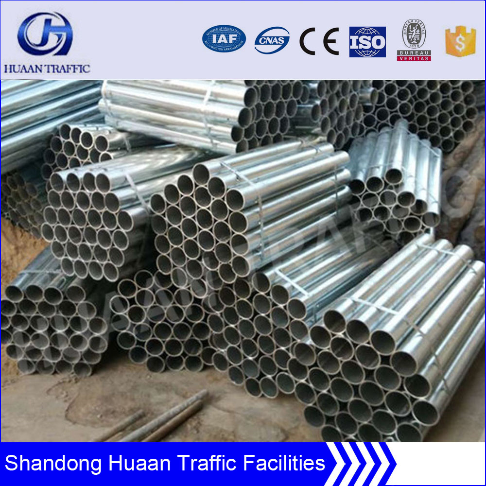 galvanised steel Security Barrier post for highway
