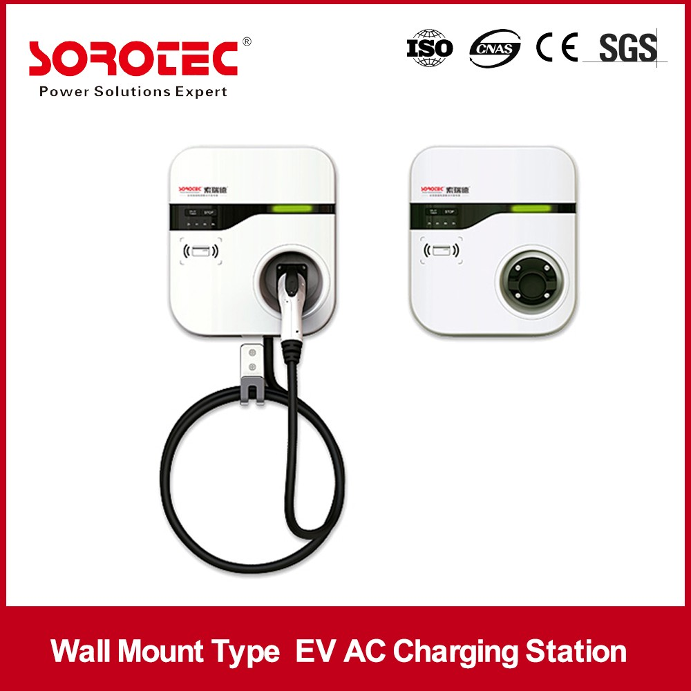 World Advanced AC220V Public Electric Car Charging Stations