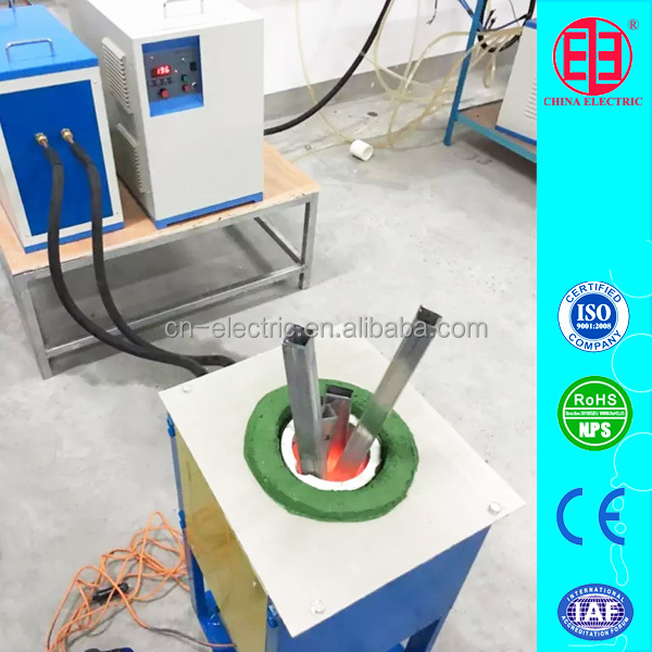 10kg Medium frequency induction furnace for aluminum scrap melting