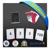 New product poker gambling playing card cheat-prevention card Pawns
