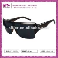 Anti-Radiation Black Fashion Police Polarized Sunglasses