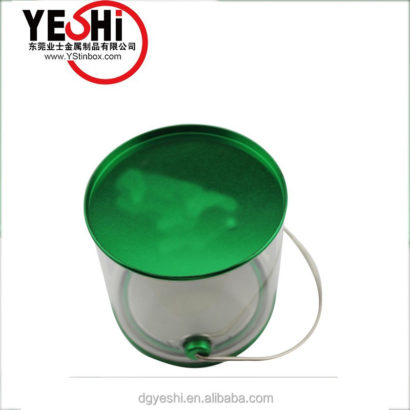 plastic food safe metal buckets with lid and handle, metal buckets manufacturer