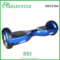 ELECYCLE hot sales foot scooter hoverboard two wheel smart balance electric scooter