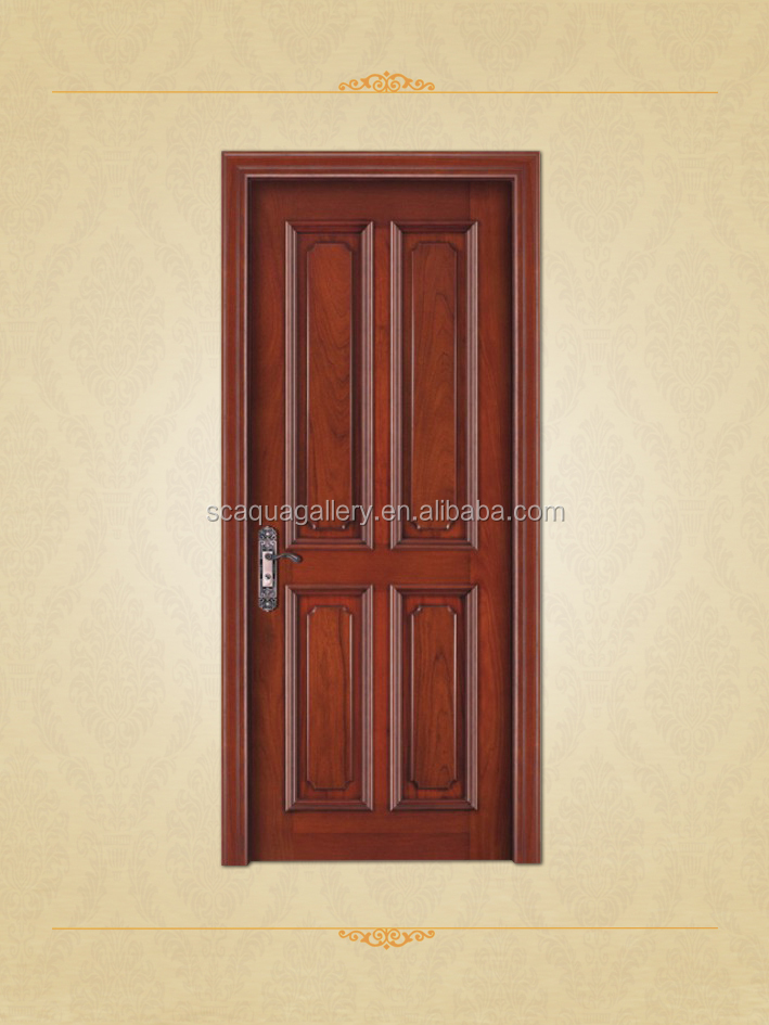 Solid Wood Interior Lacquer Panel Door