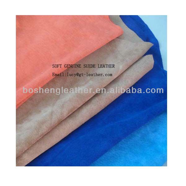 VARIOUS COLORS OF SOFT SUEDE LEATHER BAG