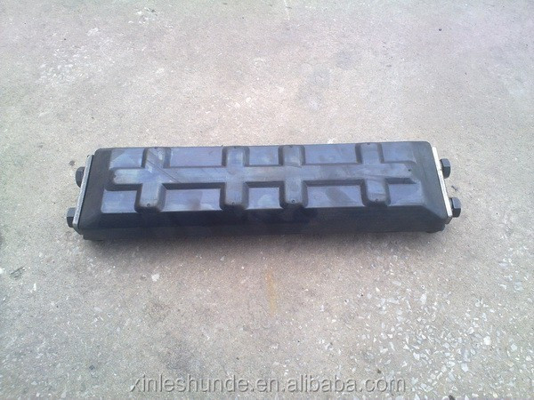 Excavator EX120 500HD Rubber Track Pad Rubber Shoe Rubber Pad for Excavator