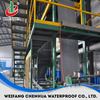 building material automatic asphalt shingle production line china supplier