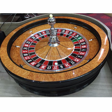 "32"" inch Solid Wood Professional Casino Roulette Wheel"